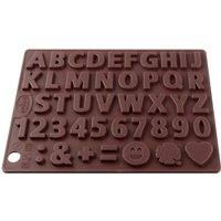 Dr. Oetker Chocolate Mold Letters & Numbers