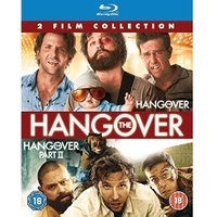 The Hangover/The Hangover Part II Double Pack [Blu-ray] [2012] [Region Free]
