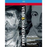 Verdi:The Shakespeare Operas [Various] [OPUS ARTE:BLU RAY] [Blu-ray]