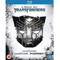 Transformers 3-Movie Set [Blu-ray] [Region Free]