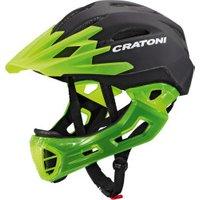 Cratoni C-Maniac black-lucentgreen matt