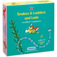 Gibsons Snakes & Ladders And Ludo