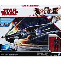 Hasbro Star Wars - Episode 8 Forcelink Tie Silencer 3.75 Kylo Ren (C1252)