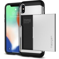 Spigen Slim Armor CS Case (iPhone X) satin silver