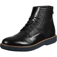 Clarks Modur Hi black leather