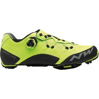 Northwave Ghost XC yellow fluo/black
