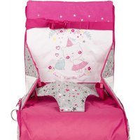 Tuc tuc Portable High Chair Stories pink