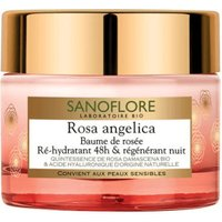 Sanoflore Rosa Angelica Baume De Rosée Regenerating Night Balm (50 ml)