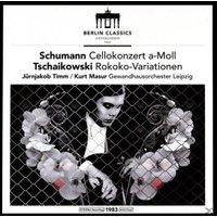 Gewandhausorchester Leipzig, Masur, Timm - Werke Für Violoncello (Vinyl)