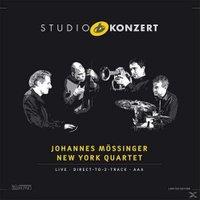 Johannes Mössinger, New York Quartet - Studio Konzert (180g, Limited Edition) (Vinyl)