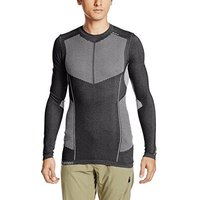 Salomon Primo Warm Tech Tee grey