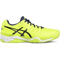 Asics Gel-Resolution 7 safety yellow/indigo blue/white
