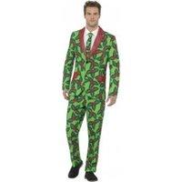 Smiffy's Festive Holly Men Costume L