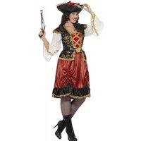 Smiffy's Pirate Bride Janine Ladies Costume L