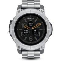 Nixon Mission SS silver