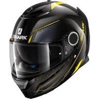 SHARK Spartan Carbon Silicium black/yellow
