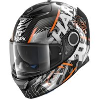 SHARK Spartan Carbon Daksha black/orange