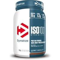Dymatize Iso100 Hydrolyzed 100% Whey Protein Isolate 900g Gourmet Chocolate