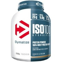 Dymatize Iso100 Hydrolyzed 100% Whey Protein Isolate 2200g Cookies & Cream