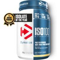 Dymatize Iso100 Hydrolyzed 100% Whey Protein Isolate 900g Birthday Cake