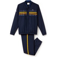 Lacoste Sport Tennis-Tracksuit with Colorstripes navy blue/marino-buttercup