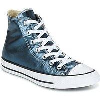 Converse Chuck Taylor All Star Metallic Canvas Hi blue fir/white/black (157629C)