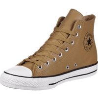 Converse Chuck Taylor All Star Tumble Leather Hi raw sugar/egret/black (157467C)