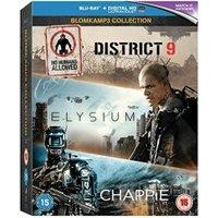 District 9 / Elysium / Chappie [Blu-ray]