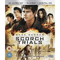 Maze Runner: Chapter II - The Scorch Trials [Blu-ray] [2015]
