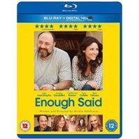 Enough Said [Blu-ray] [2013]