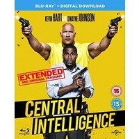Central Intelligence (Blu-ray + Digital Download) [2016]