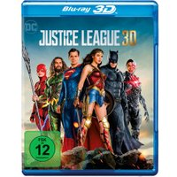 Justice League [Blu-ray 3D + Digital Download] [2017]