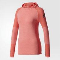 Adidas Climaheat Primeknit Hooded Longsleeve pink/easy coral/black