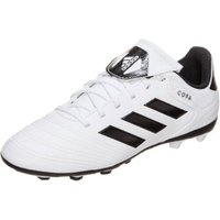Adidas Copa 18.4 FxG Jr footwear white/core black/tactile gold metallic