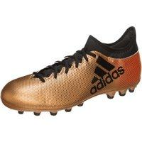 Adidas X 17.3 AG tactile gold metallic/core black/solar red