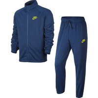 Nike Sportswear Track Suit gym blue/bright cactus
