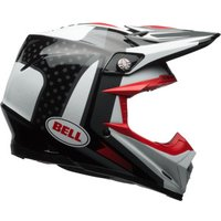 Bell Moto-9 Carbon Flex Vice black/white/red