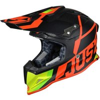 Just1racing J12 Off Road Carbon UNIT red/lime