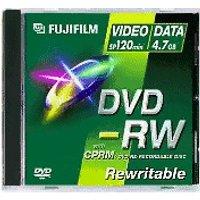 Fuji Magnetics DVD-RW 4,7GB 120min 2x 5pk Jewel Case