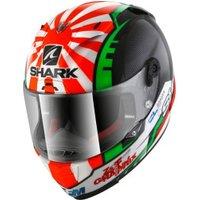 SHARK Race-R Pro Zarco white/red/green/black