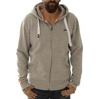 Superdry Kapuzensweatshirt Orange Label Lite Hood light grey
