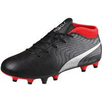 Puma ONE 18.4 FG Jr puma black/puma silver/red blast
