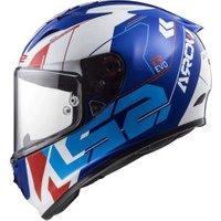 LS2 FF323 Arrow R Evo Techno blue