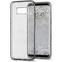 Spigen Case Liquid Crystal Glitter (Galaxy S8) Space Quartz