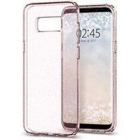 Spigen Case Liquid Crystal Glitter (Galaxy S8) Rose Quartz