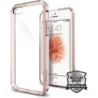 Spigen Case Ultra Hybrid (iPhone SE/5S/5) Rose Crystal