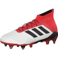 Adidas Predator 18.1 SG footwear white/core black/real coral