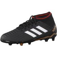 adidas Unisex Kids' Predator 18.3 Fg Footbal Shoes, Black CblackFtwwhtRed, 4 UK