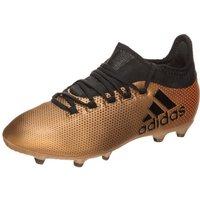 Adidas X 17.1 FG Jr tactile gold metallic/core black/solar red