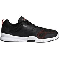 Adidas Essential Star 3 carbon/core black/hi-res red